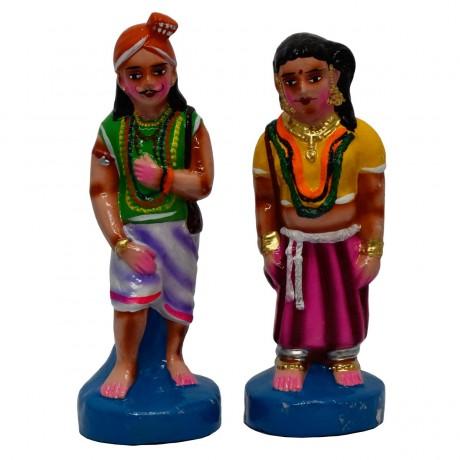 "Kuravan & Kurathi - 10.5"""