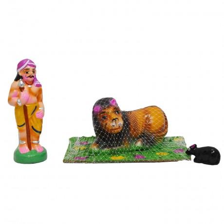 """Lion & Mouse - 6.5"""""""