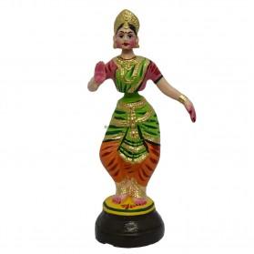 """Bharadhanattiyam doll - 12"""""""