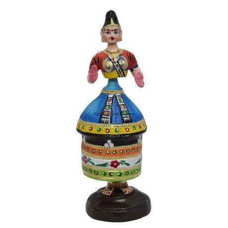 "Manipuri doll - 14"""