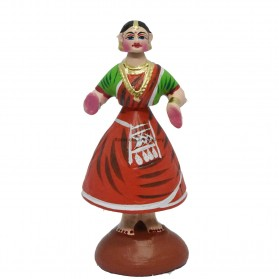 """Tanjore Doll - 10"""""""