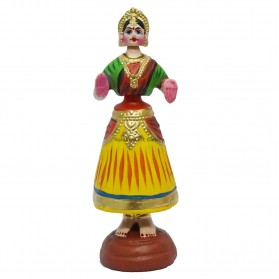 """Tanjore Doll - 11"""""""