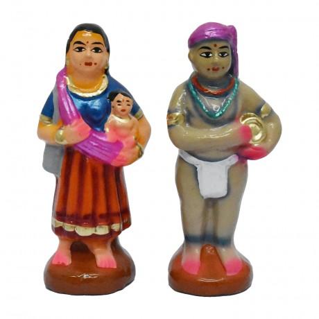 "Kuravan & Kurathi - 6.5"""