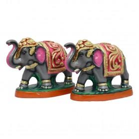 "Elephant Pair - 10"""