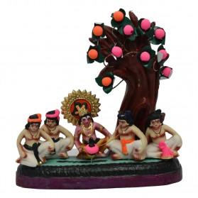 "Krishna Playing Bambaram  - 9"""