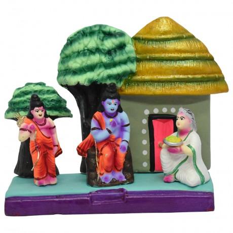 "Lord Rama Meets Shabari Ashram - 8"""