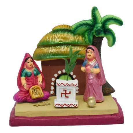 """Thulasi Pooja - 6.5"""""""
