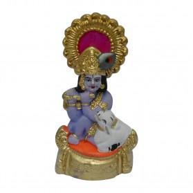 "Cow With Krishna - 5"""
