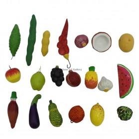 "Fruits & Vegetables (20Pic) - """